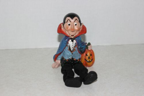 HALLOWEEN DRACULA TRICK-OR-TREATER  SHELF SITTER