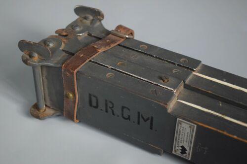 RARE WWII German Original Optic Binoculars Calibration Equipment Gebr Wichmann