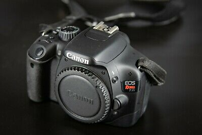 Canon EOS Rebel T2i / EOS 550D 18.0MP Digital Camera - Black (Body Only)