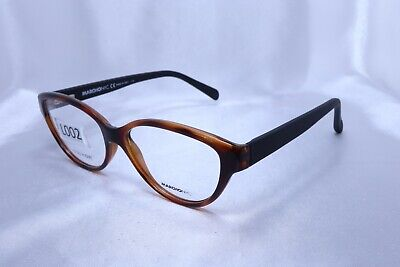 MARCHON NYC PALERMO in Brown 53-15-135 Eyeglass Frames Flex Hinges Authentic L02