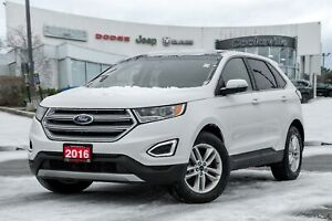 2016 Ford Edge SEL, NAVIGATION, BACKUP CAM, LEATHER, PANO ROOF