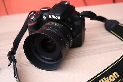 Usado, Nikon D3200 DSLR Camera Nikkor AF-S 35mm F/1.8 & AF-S 18-140mm F/3.5-5.6 segunda mano  Embacar hacia Mexico