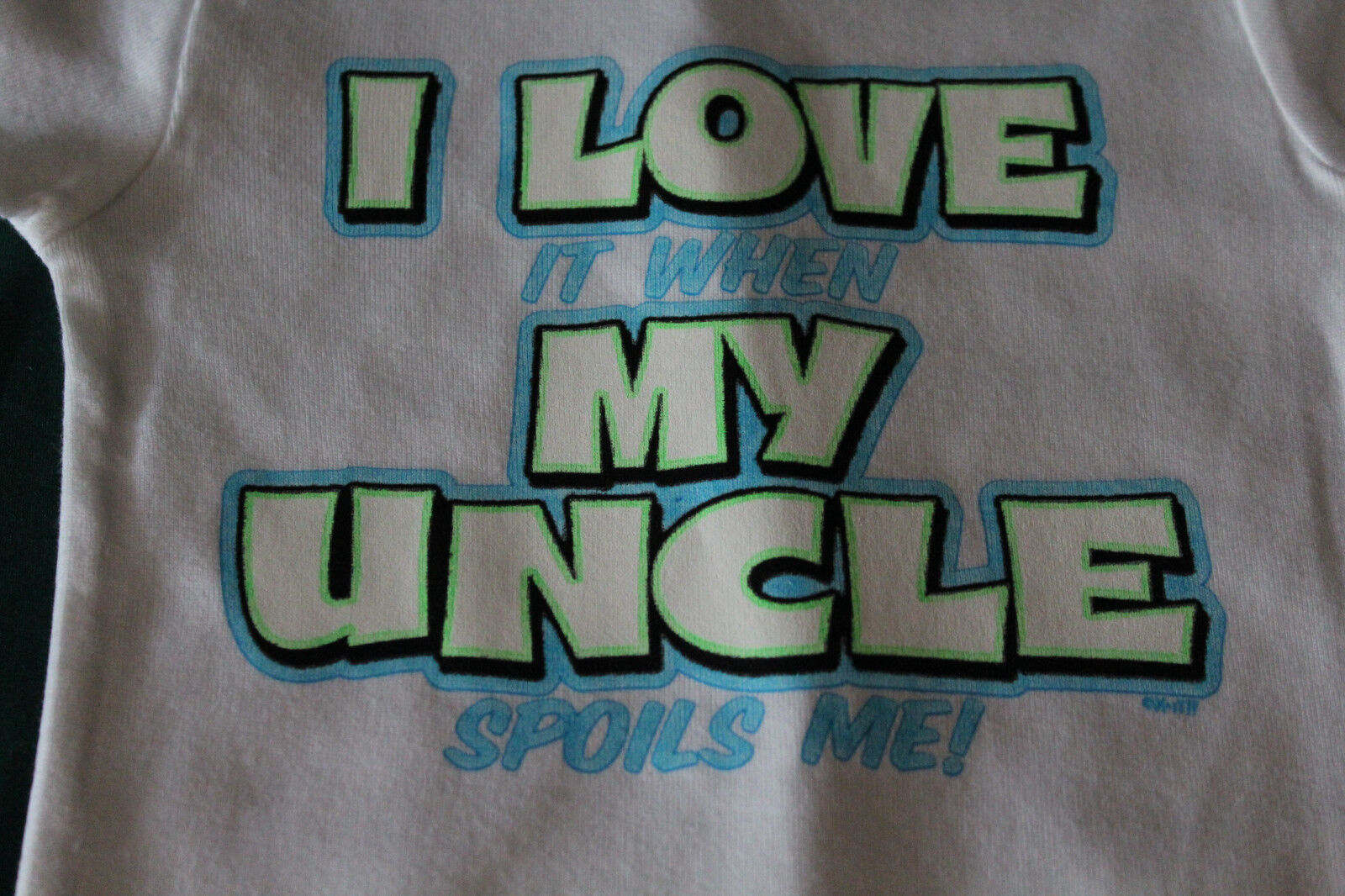 I LOVE it when MY UNCLE funny t-shirt tee boy girl graphic y