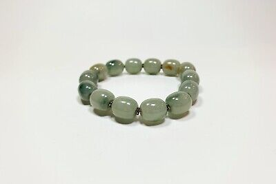 Green /& Pink Jade Bracelet with Mother of Pearl Nuggets and Sterling Silver Stone Bead Jewelry Multi Color Adjustable Bracelet