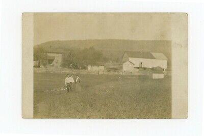 Postcard RPPC Snyder? County PA  Farm