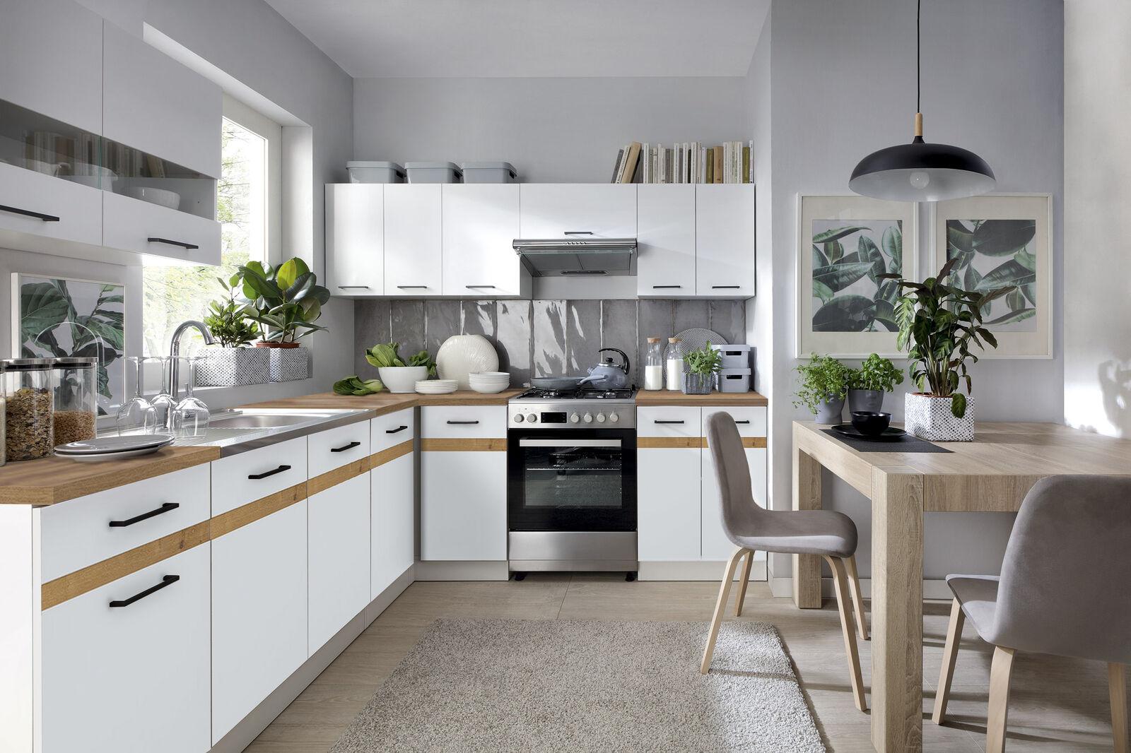 LForm Küche erweiterbar in 5 Farbkombinationen