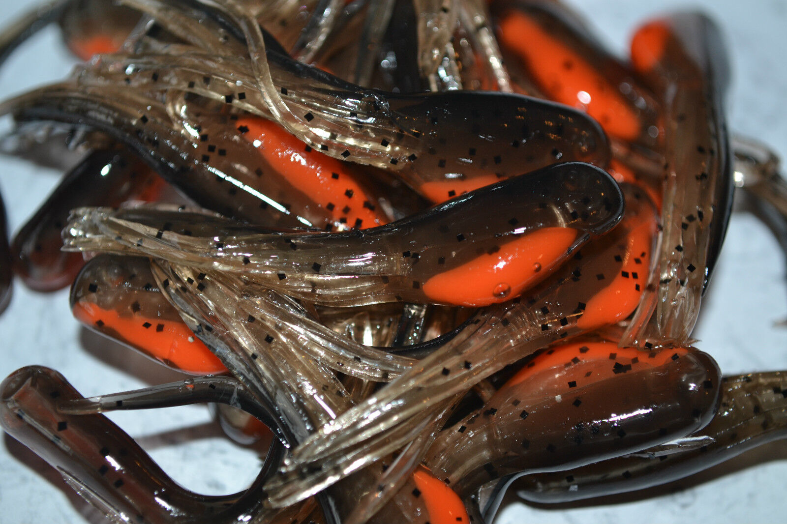 """2/"""" CRAPPIE MINNOW-TUBES GRUB LURE JIG FISHING SHAD 25PK BLUEGILL #3"""