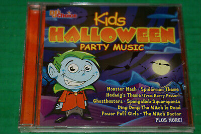 Various Artists  DJs Choice Kids Halloween Party Music CD 2002 Fun Weird Oop - Fun Halloween Music