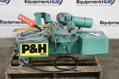P H Harnischfeger Fb8c-r4 2 Ton Electric Overhead Rope Hoist Trolley Crane