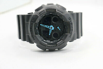 G-Shock 5081 GA-100C All Black Digital Watch New Battery
