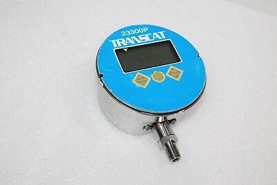 Transcat 23300p-1000 Digital Pressure Gauge 0-1000 Psi