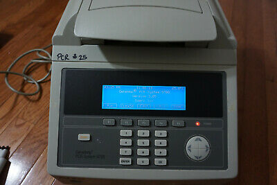 Abi Applied Biosystems Geneamp Pcr 9700 96-well Cycler Thermocycler Gold Block