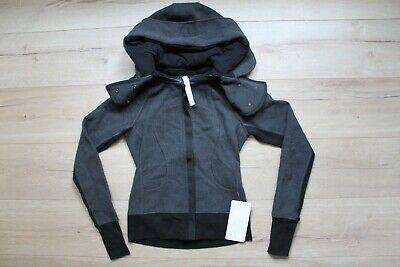 93019968225 RARE NWT Lululemon special edition Hiver 2013 Scuba jacket, size 4