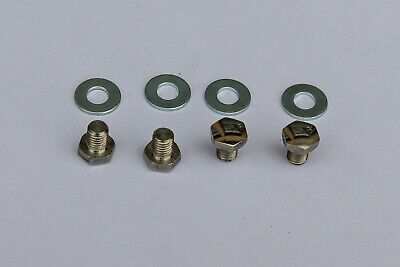 Dkicks cycle toe clip bolt /& nut for Vintage pedal mounting