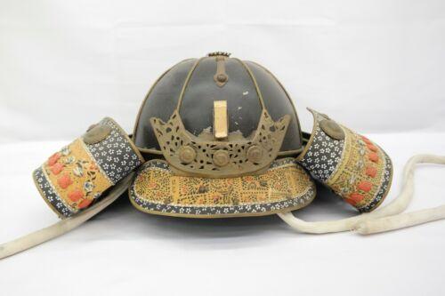 Japanese Vintage Samurai Helmet Decorative Art Deco AK