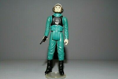 Vintage Star Wars 1984 LAST 17 A-WING PILOT Nr MINT REPLICA BLACK ENDOR BLASTER