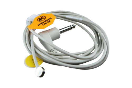 Adult Skin Temperature Temp Probe YSI409B for ZOLL M E R Series 8000-0670, 9ft