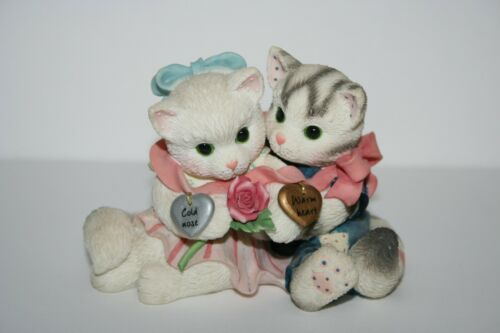 Enesco Calico Kittens Cold Nose Warm Heart Figurine 1997