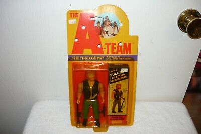 1983 GALOOB A-TEAM ACTION FIGURE VINTAGE THE BAD GUYS VIPER SNIPER RED BEARD