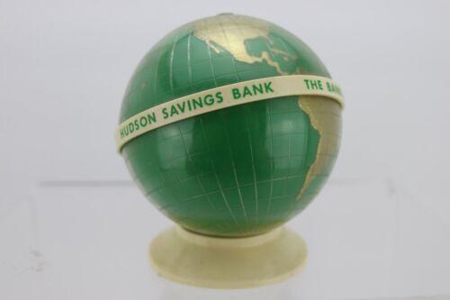 Hudson Savings Bank Vintage MK TUOTE FINLAND Piggy Coin Bank