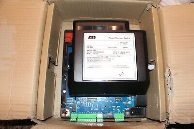 Asco J03atsa30260cg00 260a Power Transfer Switch 260a 3ph New