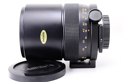 Yashica 500mm F8 Mirror Lens Contax mount in Mint Conditions Without Packaging, usado segunda mano  Embacar hacia Spain