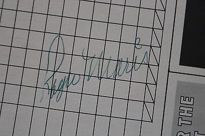 ROGER MARIS NY YANKEES RED SOX CARDINALS 1967 WORLD SERIES SIGNED SCORECARD  JSA