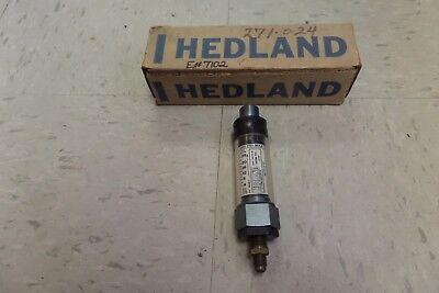 Hedland 271-024 Flow Meter 271024 600 Psi Max 14 Npt
