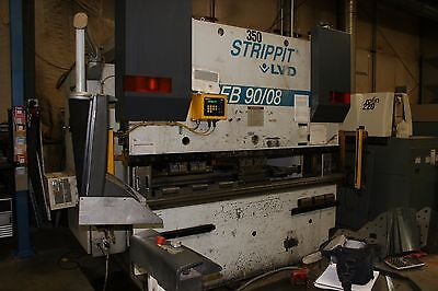 90 Ton X 10 Lvd Ppeb Cadman Cnc Press Brake - Fabricating Machinery