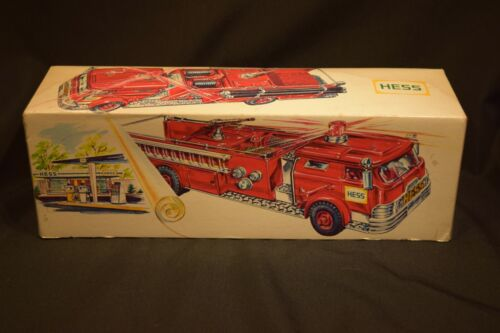 Vintage Hess 1970 Fire Engine  Box Only hard to find