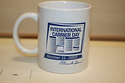 Atlanta Journal Constitution Coffee Mug International Carrier Day 2003 B12