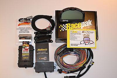 Haltech Elite 2500 ECU & long  wiring  + WBC2 Wideband + Racepak dash  kit