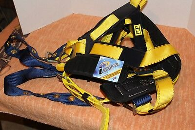 Dbi-sala Delta Construction Style Positioning Harness Size Large 1101655