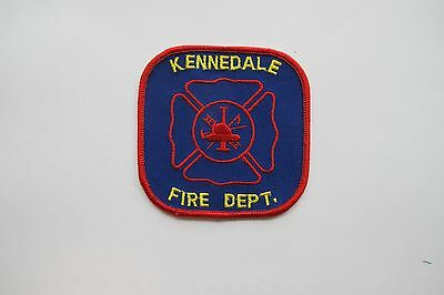 KENNEDALE FIRE DEPT. EMBROIDERY APPLIQUÉ PATCH-001 ()