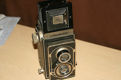 Zeiss Ikon Ikoflex Vintage TLR Medium Format Roll Film Camera - Early Model.