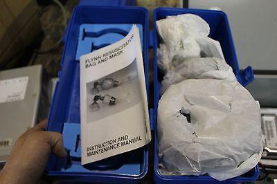 New Flynn Resuscitator Bag Mask 4500m Adult