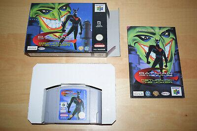 Nintendo 64 *Batman of the Future - Return of the Joker* N64 OVP CiB Mint Beyond