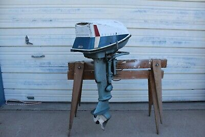 Old Evinrude Sportwin 10hp to12hp Outboard Boat Motor For Sale NICE SHAPE & (10 Hp Outboard Motor For Sale Used)