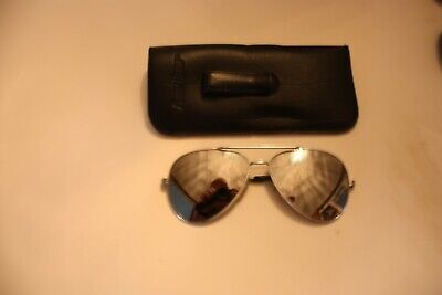 Silver Sunglasses with Neutral Lenses