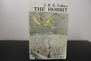 The-Hobbit-by-J-R-R-Tolkien-Unwin-1973-SC-Rare-Cover-Art-by-J-R-R-Tolkien