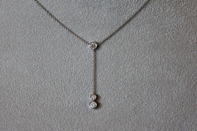Tiffany & Co. Platinum .45ct Tw Diamond