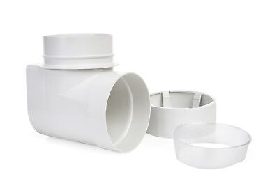Snap to Vent 90 Elbow Quick Connect Dryer  | STV-90 | Ziggurat Products Dryer Vent Connection
