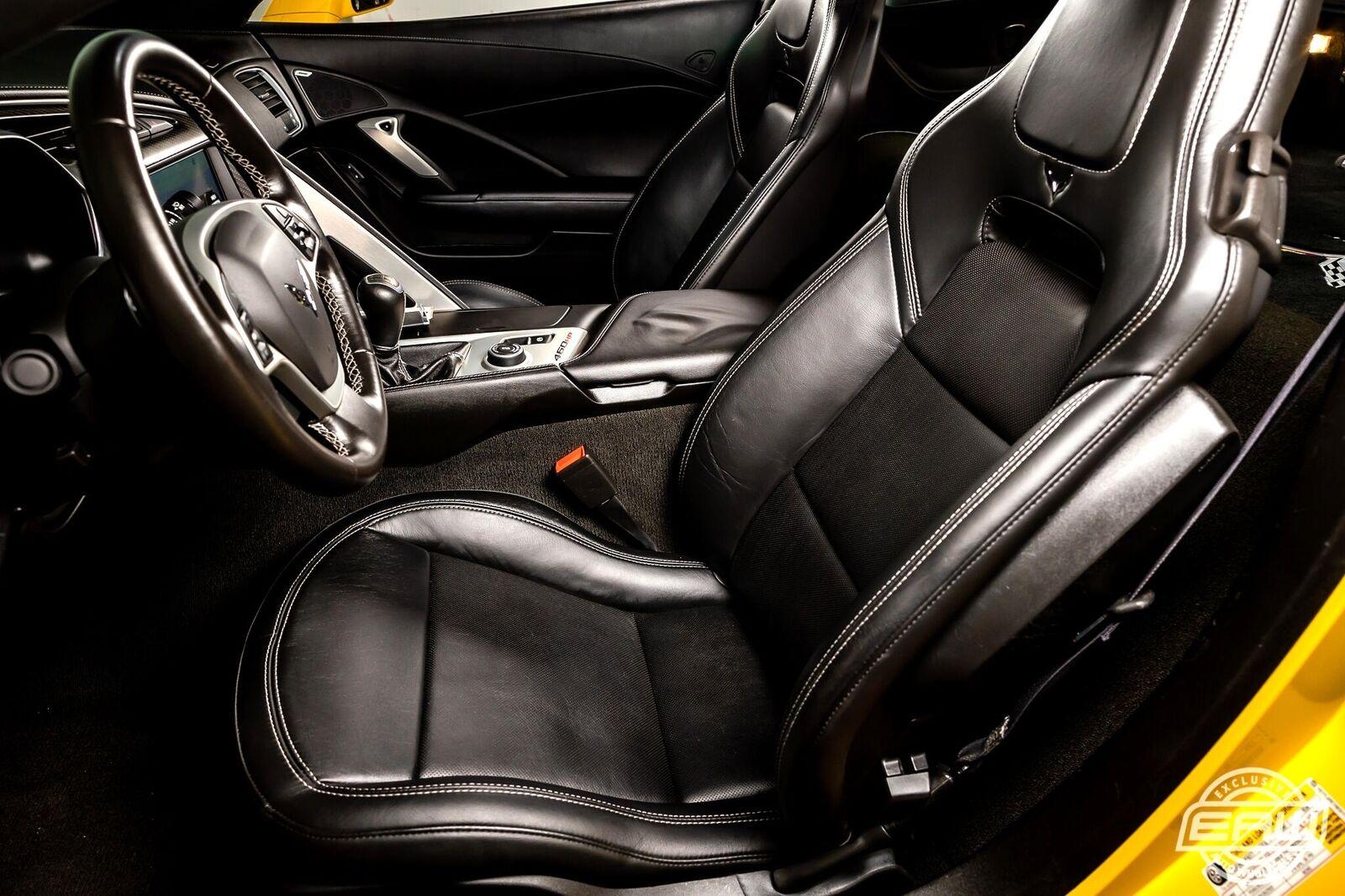 2014 Yellow Chevrolet Corvette Coupe 2LT   C7 Corvette Photo 5