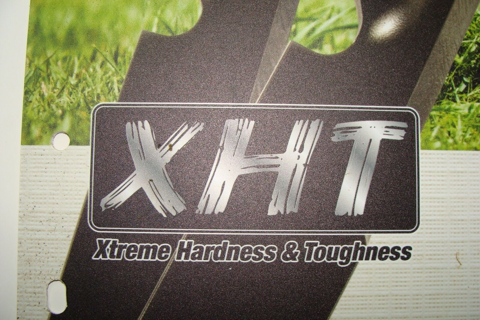 "3 REPL XHT HD USA BLADES EXCEL HUSTLER 797696 601124 54"" RAPTOR SD FASTRAK X"