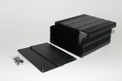 Black Aluminum Pcb Instrument Box Enclosure Diy Project 10010050mm