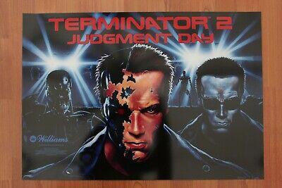 Terminator 2 Pinball Machine Translite