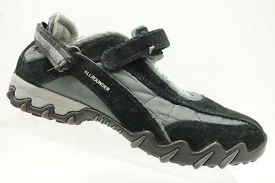 Mephisto Allrounder Black Leather Mary Jane Trail Walking Shoes Women's 7 Allrounder Black Shoes