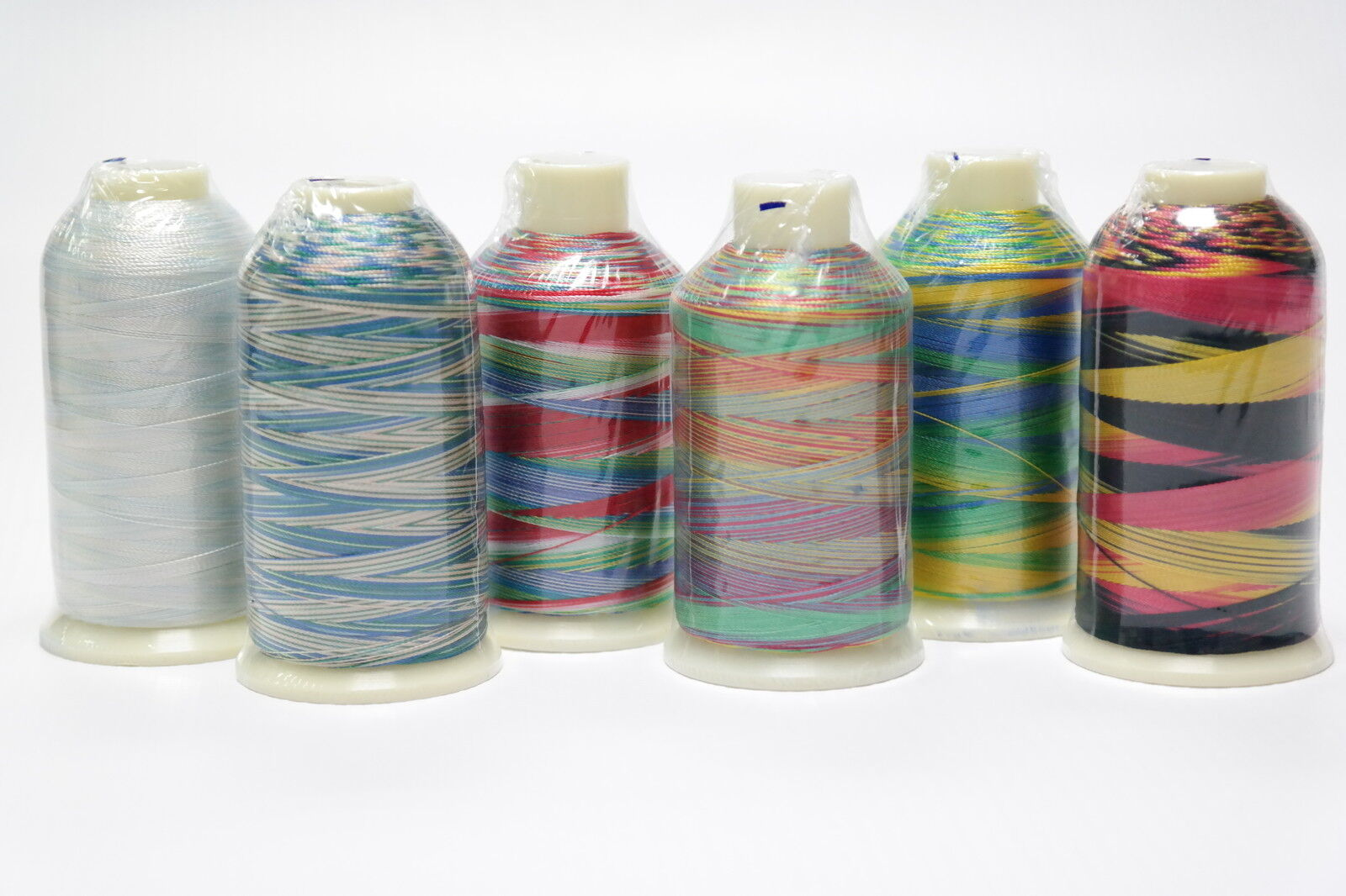 YLI Rayon Ribbon Floss 40 m Reels x7 Embroidery Thread Colour Nature Tones
