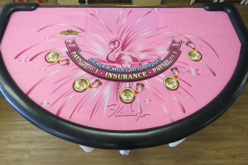 Genuine Blackjack Layout Flamingo Casino Las Vegas