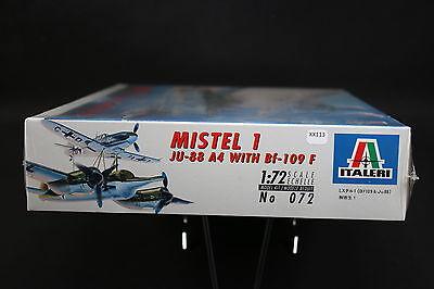 XX113 Italeri 1/72 Model Aircraft 072 Mistel 1 JU-88 A4 with Bf-109 F JU88 1996